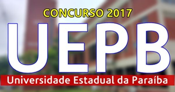 Apostila Concurso Uepb 2017 Concurso Apostilas Para Concursos