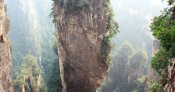 SOUTHERN SKY COLUMN. ZHANGJIAJIE NATIONAL FOREST PARK. CHINA. The Zhangjiajie National Forest