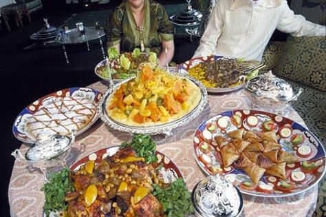 Marrakech is a hot spot for moroccan cuisine serving all - French cuisine influences ...