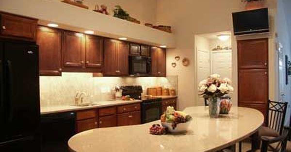 Kidney Shaped Kitchen Island Woodstar Kitchen With Kidney Shaped
