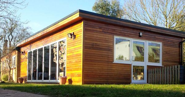 Garden building using western red cedar no 2 clear for Sips garden buildings