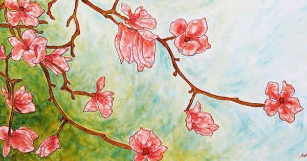 Faux vitrail magnolia blocs de verre no l pinterest magnolias et atelier - Skinglass toile de verre ...