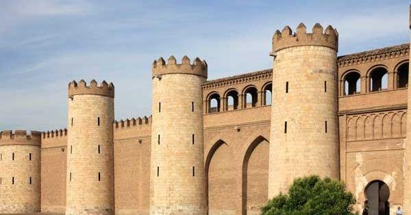 Palacio de la aljaferia construido en la segunda mitad for Arquitectura islamica en espana