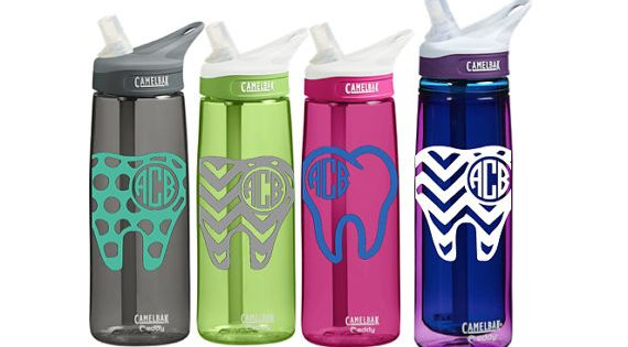 dental personalized camelbak 0 75 l eddy or 0 6 l insulated personalized monogram dental dentist