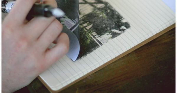 Photo Transfers With Blender Pens