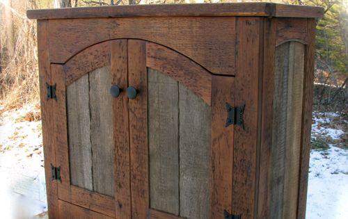 Custom Rustic Furniture By Don Mcaulay Rustic Tv Lift Cabinet 2 Door