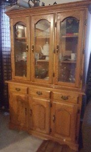 How To Turn An Old China Cabinet Into A Beautiful Kitchen Island Diy Diy Kitchen Island Kitchen Island Makeover Rustic Kitchen Island