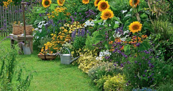 ideen f r bunte sommerbeete gardens garten and herb. Black Bedroom Furniture Sets. Home Design Ideas