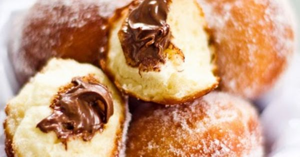 Nutella Doughnut holes sweets