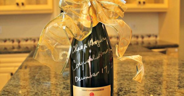 The Perfect Housewarming Gift Bottle Of Champaign
