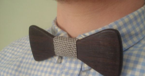 Wooden Ebony Wood Bow Tie. Menswear. Handmade in America. | See more about Tie Bow, Bow Ties and Bows.
