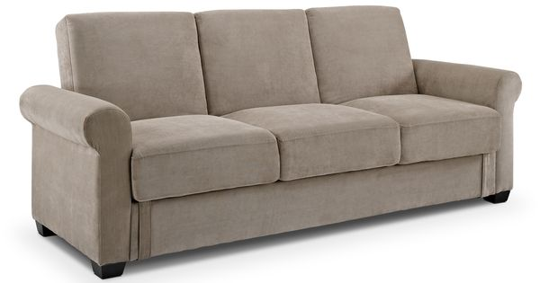 Thomas Upholstery Futon Sofa Bed With Storage Value City