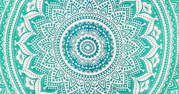 ombre mandala wallpaper - photo #13