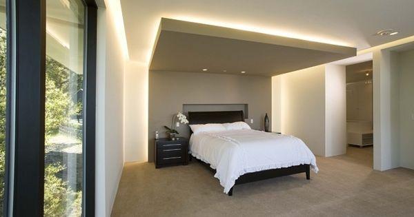 indirekte versteckte beleuchtung schlafzimmer led decke. Black Bedroom Furniture Sets. Home Design Ideas