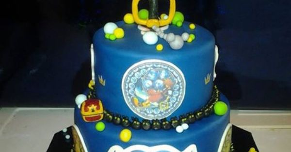 Kingdom Hearts Cake Omfg I Need This For My Bday