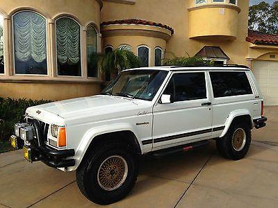 1989 Jeep Cherokee Limited Sport Utility 2 Door Jeep Cherokee Xj