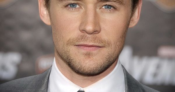 chris hemsworth and tom hiddleston morphed. I've never seen two people morphed