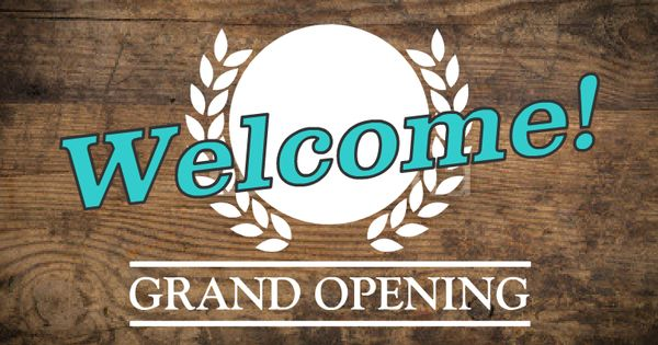 Grand Opening Templates Only On Esigns Com Business Banners And Signs Pinterest Grand Opening Cafe Sign And Templates