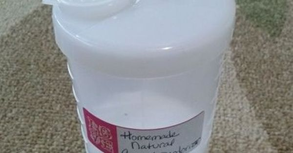 Homemade Natural Carpet Deodorizer And Stain Remover