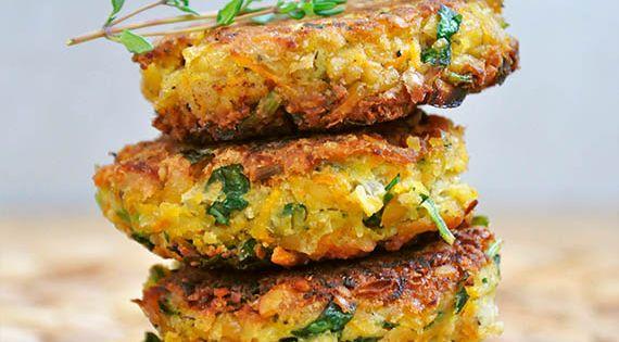 healthy vegan falafel recette galette de pois chiche recette galette et galettes. Black Bedroom Furniture Sets. Home Design Ideas