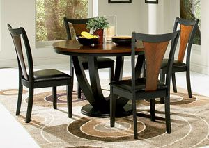 Boyer Black Cherry Table W 4 Cherry Dining Chairs Index Php