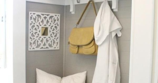 Remove Foyer Closet : Most awesome mudroom or foyer closet reno i ve seen