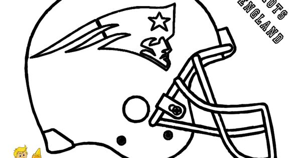 New england patriots coloring pages with minnie mouse for New england patriots football coloring pages