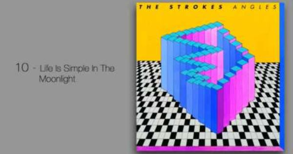 Life Is Simple In The Moonlight So Good I Love The Strokes Especially This Album I Could Listen To It On Repeat F The Strokes The Strokes Albums Music Book