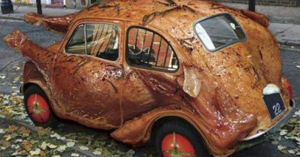 ok. this is just weird. VW Chicken Car | volzwagon love ...