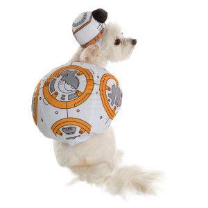 Large The Force Awakens BB-8 Pet Costume Rubies Star Wars VII
