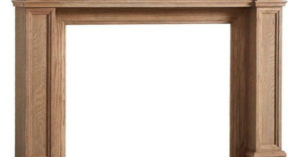 Chimenea de madera natural vilmupa decoraci n del for Decoracion del hogar pinterest