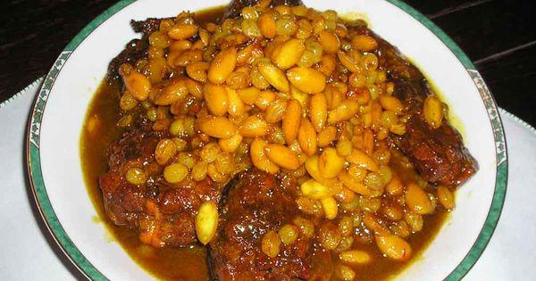 Recette cuisine tunisienne recette mrouzia tunisien de la cuisine tunisienne recept pinterest - Cuisine tunisienne mloukhia ...