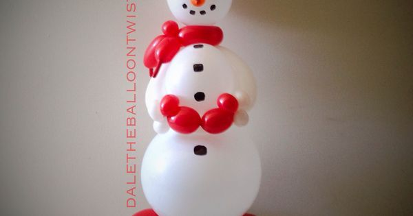 Frosty Centerpiece. | Balloon Sculptures | Pinterest | Centerpieces