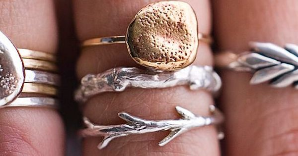 A slideshow of lovely rings curated by Etsy's blog editors. Which one