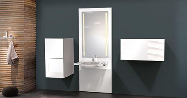 Individuell Hohenverstellbare Module Bieten Besonderen Komfort Barrierefrei Bad Waschtisch Waschbecken