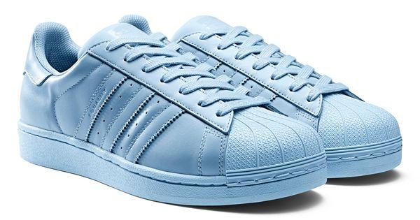 Adidas Superstars Hellblau
