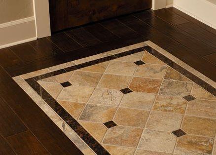 Ceramic Tiles On Wooden Floor Dining Room Floor Tile Design
