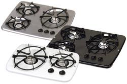 Rv Gas Cooktops Drop In 3 Burner Cook Top Stainless Propane