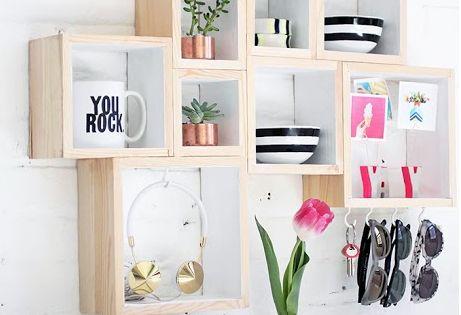 Imagen mejores fotos estanterias madera del art culo las - Articulos de madera para manualidades ...