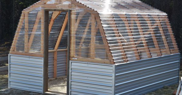 chicken coop? Barn Greenhouse -Good plans, instructions,material list, lots of pictures!