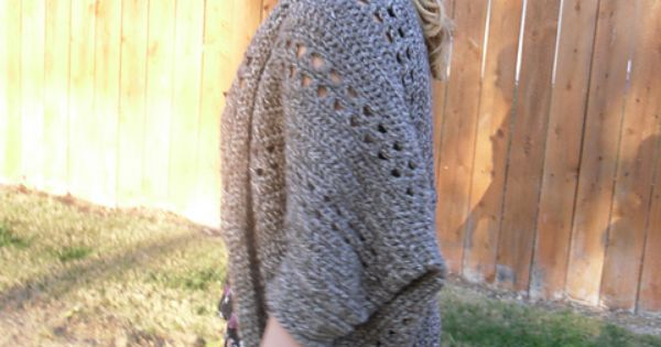 Crochet X Stitch Shrug : Crochet X-Stitch Shrug pattern by Deanna Young Pinterest I want ...