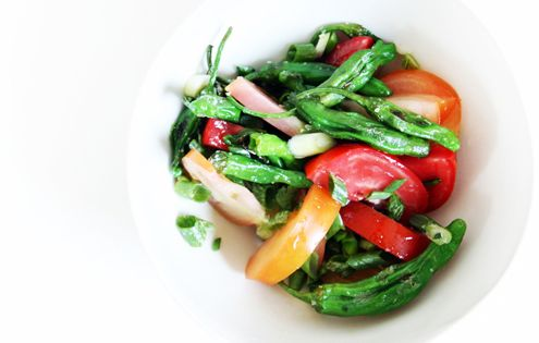 ... Pepper and Tomato Salad | Recipe | Tomato Salad, Tomatoes and Salads