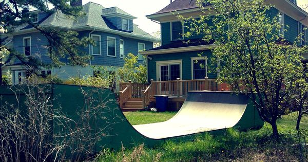 backyard half pipe outdoors pinterest backyards home made and