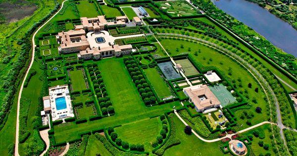 Billionaire ira rennert s 200 million hamptons mansion for Billionaire homes in usa