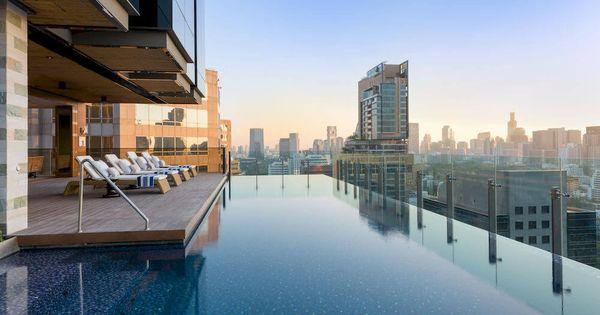 Piscine rooftop bangkok thailand pinterest bangkok for Piscine a debordement thailande