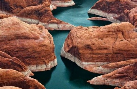 Antelope Canyons and horseshoe of the Colorado River