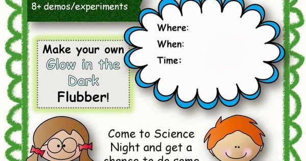 Classroom Ideas Year 1 ~ Flyer templates science fair yahoo image search results
