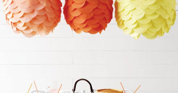 Creative DIY Paper Lamp Ideas With Colorful DIY Paper Lantern