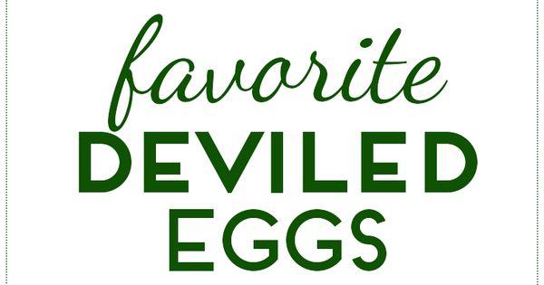 Deviled eggs, Deviled eggs recipe and Egg recipes on Pinterest