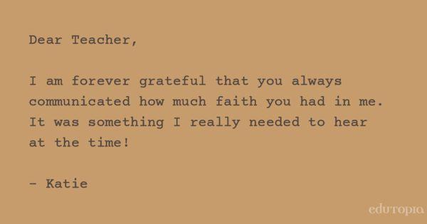 thank you letter teacher fdjerueeeu parent simple note sample noteg